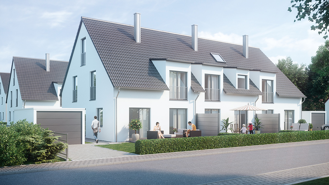 Stadthäuser Hasenheide Neumarkt - Beerenweg 3 - 3b