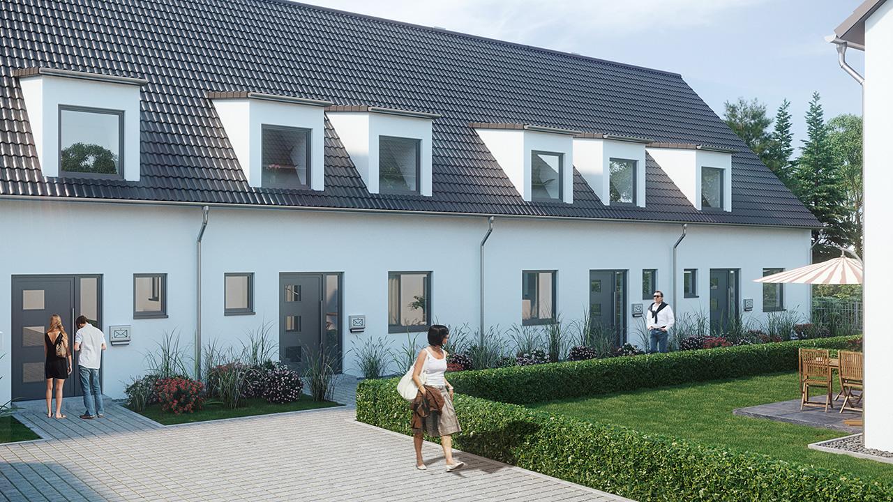 Stadthäuser Hasenheide Neumarkt - Lerchenweg 4b - 4e 002